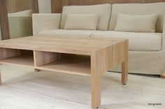 Livingroom: GATE  coffee table + SOHO II  3s. sofa