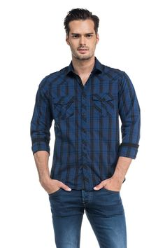 Camisa Salsa hombre fw15  http://www.marieta.es/tienda/camisa-sport-ml/292-camisa-sport-ml-salsa.html