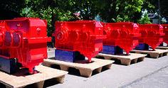 STC-Steyr liefert Pendelrollenlager, Zylinderrollenlager, Kegelrollenlager und Rillenkugellager für Fahrantriebe für Hafen in Nordafrika. Steyr, Kegel, Austria, Projects, Top Hats, Log Projects, Blue Prints
