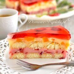 Polish Recipes, Polish Food, Sweets Cake, Vanilla Cake, Cheesecake, Cooking Recipes, Cakes, Cake Makers, Polish Food Recipes