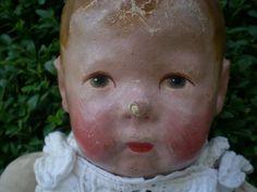 Käthe Kruse Puppe, ca. 100 Jahre alt,   eBay