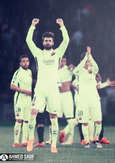 Gerrard Pique | FC Barcelona | Barca | FCB