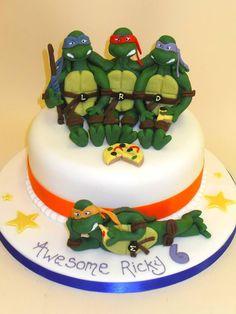 Teenage Mutant Ninja Turtles #Birthday #Cake!