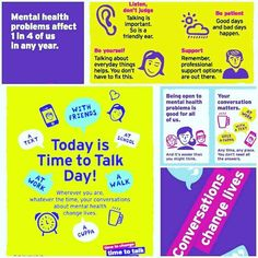 We are supporting Time to Talk day today. Support those with a mental health illness start the conversation and make a big difference  #timetotalk #NHS #Northamptonshire #support #mentalhealth #weareNHFT #makeadifference http://ift.tt/2kvxTKP