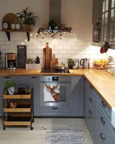 surprising small kitchen design ideas and decor 26 ~ mantulgan.me surprising small kitchen design i. Home Decor Kitchen, New Kitchen, Kitchen Interior, Summer Kitchen, Kitchen Wood, Awesome Kitchen, Design Kitchen, Kitchen Hair, Kitchen Pics