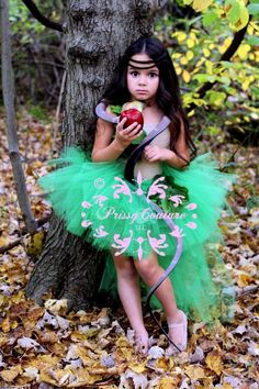 Adam & Eve Tutu Costume by PrissysCouture