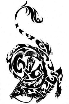Chinese Zodiac: Dragon by jennsch