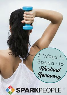 Get stronger, better, and faster by focusing on workout recovery. Here's how to rebuild and recover more quickly for better results (and less soreness)! | via @SparkPeople #fitness #exercise