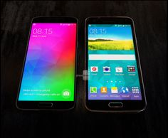 In new leak images Samsung Galaxy F aka galaxy prime pictured against his brother flagship from  Samsung ,galaxy S5. According to leakster @evleaks Samsung now going to give tough competition to the recently announced LG G3 - See more at: http://gadndown.com/samsung-galaxy-f-back-news-new-leak-images/#sthash.iKeMW1UK.dpuf