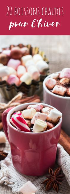 Hot chocolate, chaï tea latte, hot apple juice: 20 warm comforting beverages for the winter! Winter Drinks, Winter Food, Chai Tee, Yummy Drinks, Yummy Food, Food Porn, Smoothies, Food Tasting, Food Journal