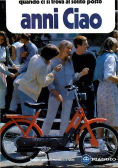 .noi che..... se finivamo la miscela tasto nero e lo usavamo come bicicletta!