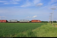 RailPictures.Net Photo: MNN 1383 Minnesota Northern EMD GP9 at Thief River Falls, Minnesota by Brian Kays