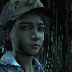 (screenshot by TheComicSunshine) Clementine Walking Dead, Walking Dead Wallpaper, The Walking Dead Telltale, Video Game, Random Stuff, Wallpapers, Games, Baby, Image