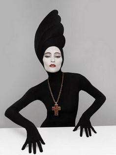 Shiseido Advert, 1980s, Art Direction by Serge Lutens