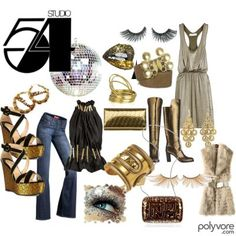 studio 54 party theme studio 54 glitter glamour 70s couture. Black Bedroom Furniture Sets. Home Design Ideas
