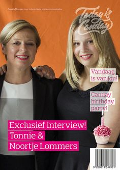 Canday Cover: Tonnie & Noortje Lommers - Canday 1e Birthday Party