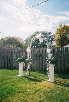Wedding Ideas On A Budget | Backyard Wedding Ideas on a Budget| Cheap Backyard Wedding Ideas