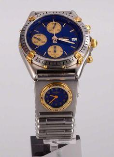 Herrenarmbanduhr, 'Breitling Chronomat UTC', Seriennummer '0383', Uhr wurde von — Uhren