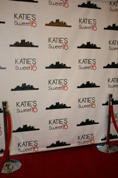 Sweet 16s, Weddings, Mitzvahs, Birthday parties...you name it! You can book our Red Carpet Photo Booth for your next event. We will work with you to customize the backdrop with any design and style you like to fit your theme and party decor.