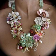 Handmade Jewelry on Etsy - Ellis... a statement...