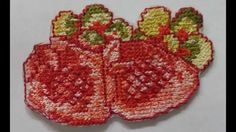 Machine embroidery video
