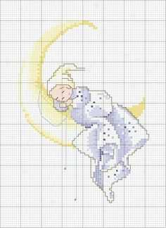 Schema punto croce Sogno: