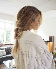 long loose braid