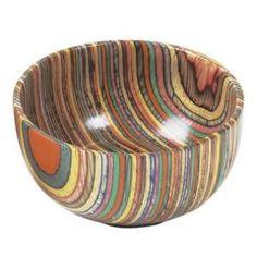 Norpro Rainbow Wood Bowl New Rainbow Wood, Rainbow Colors, Objet Deco Design, Bohemian Kitchen, Wood Bowls, Joss And Main, Wood Turning, Cool Kitchens, Beautiful Kitchens