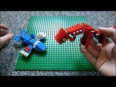 Lego Pokemon + Instructions Part 3 - Latios, Regirock, Kyogre, and Shaymin - YouTube