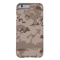 Marine Corps MARPAT Desert Camouflage iPhone 6 Case
