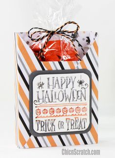 12 Weeks of Halloween 2016 Week 4 with Chic n Scratch, Stampin' Up! Demonstrator Angie Juda