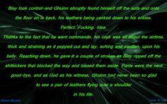 Qhuinn Blaylock Leathers BDB Black Dagger Brotherhood