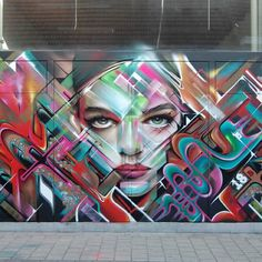 Work by #Steve Locatelli and #rizeone  Anvers, Belgium.