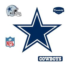 Fathead Dallas Cowboys Logo Wall Decal * See this great product.