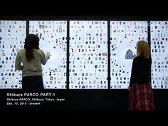 Digital Information Wall / デジタルインフォメーションウォール (beta.Ver) - YouTube