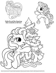 Character Coloring And Activity Pages My Little Pony