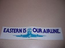 VINTAGE EASTERN AIRLINES BUMPER STICKER