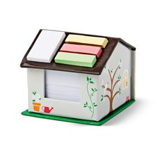 Note paper house - kitsch but cool