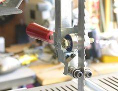 Bandsaw Double Guide Bearing Modification