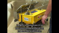 The clearing of Automatic Wall Rendering Plastering Machine