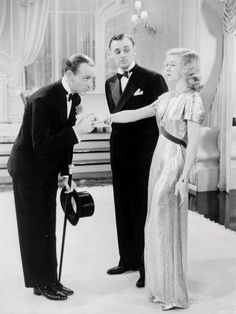 Shall We Dance - Fred Astaire & Ginger Rogers Golden Age Of Hollywood, Vintage Hollywood, Hollywood Glamour, Hollywood Stars, Classic Hollywood, Classic Actresses, Classic Movies, Dance Movies, Fred And Ginger