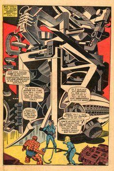 Radical Cube - Jack Kirby  Gotta love his machines!