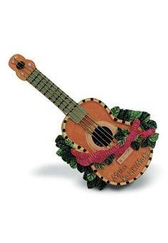 Hawaiian Ukulele Christmas Ornament