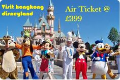 Visit #hongkong #disneyland and get your #airtickets from  #flightxpertuk @ £399 and save your money & time and enjoy your holidays.