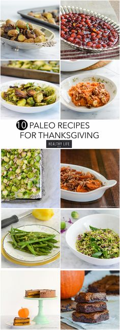 10 Paleo Recipes for Thanksgiving so you can stick to your diet without sacrificing flavor, taste or satisfaction. - A Healthy Life For Me