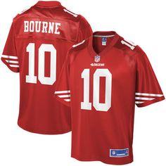 aa1789bab7b Kendrick Bourne San Francisco 49ers NFL Pro Line Youth Player Jersey -  Scarlet Nfl Jerseys For