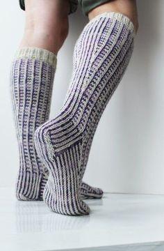 Fair Isle Socks Novita Nalle and Novita Nalle Taika Lace Knitting, Knitting Socks, Knit Crochet, Knitting Patterns, Crochet Hats, Knitting Ideas, Lace Cardigan, Knit Mittens, Boot Cuffs