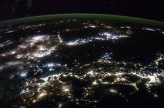 International Space Station snaps nocturnal image of West Japan, Korea and fishing boats #photooftheday