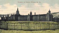 Trans Allegheny Insane Asylum in Weston WV where Ghost hunters filmed