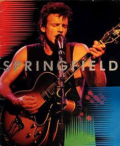 Rick Springfield: Tour Book '85. Yes, I still have mine.